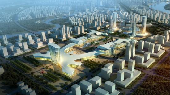 4低碳经济   4 规划目标及愿景   重点地段城市设计   重点区域总平面