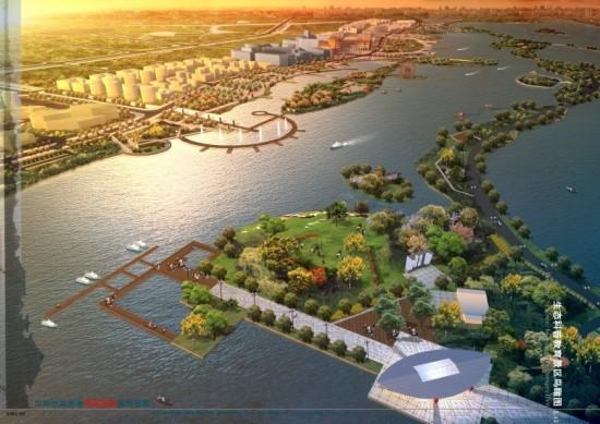 南昌朝阳新城滨湖地区景观规划设计方案